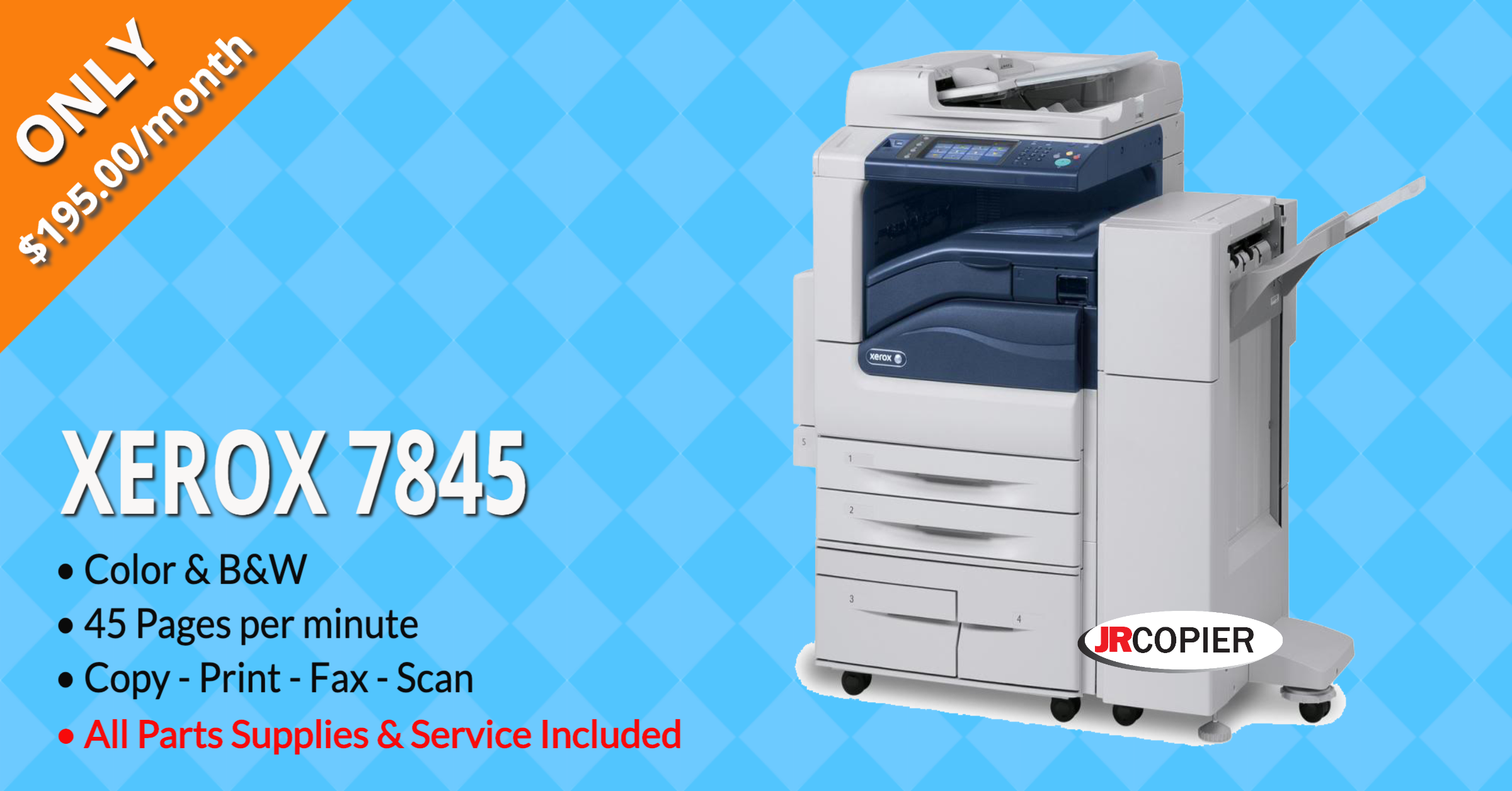 Copy Machine Rental 10519, 10560, 10578, 10589